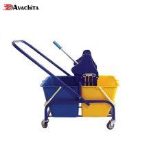 ترولی تی شوی دو سطل به همراه آبگیر فلزی مدل MAx 3