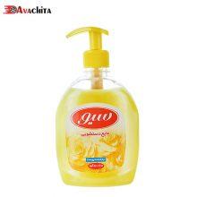مایع دستشوئی سیو ۵۰۰ گرم زرد (۱۲ ع