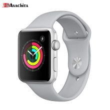 ساعت هوشمند اپل واچ ۳ مدل GPS 42mm Silver Aluminium Case with Fog Sport Band