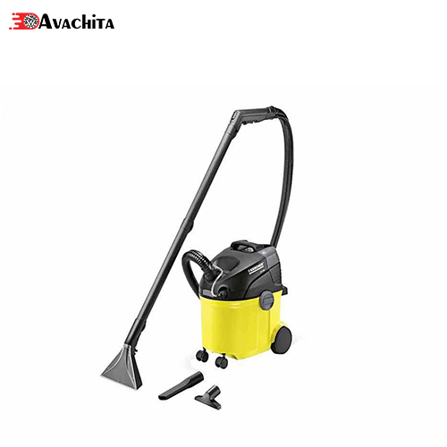 a yellow Extraction Cleaner in white background
