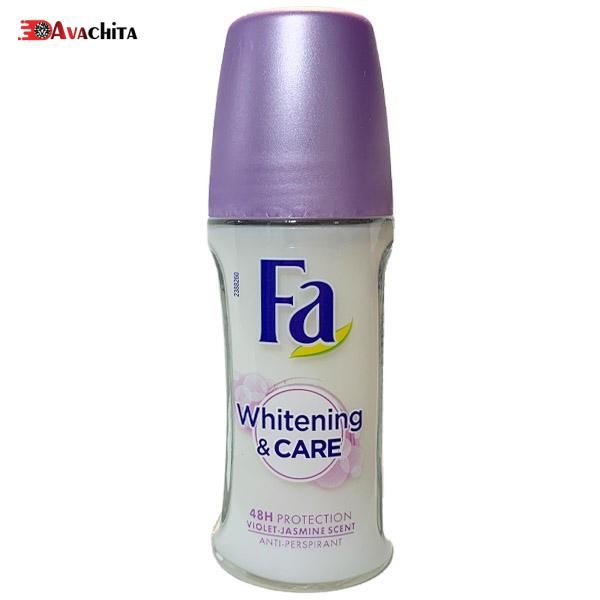 رول ضد تعریق زنانه فا Whitening & Care